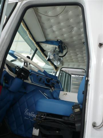 Cortina American Truck White Tappezzeria Duraccio