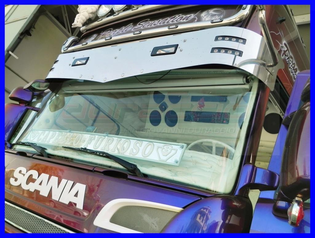 Scania Purple Sensation Pirrone Tappezzeria Duraccio