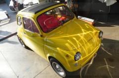 FIAT 500 YELLOW